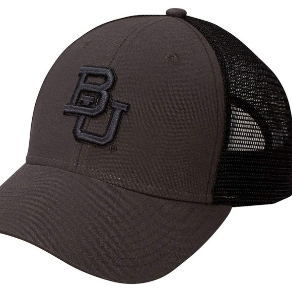 finest selection 45cf4 9eb59 NCAA Baylor Bears Canvas Mesh Cap Adjustable Hat